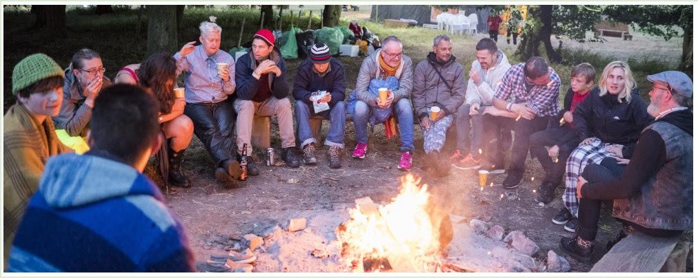 Queer Spirit Summer Festival Campfire