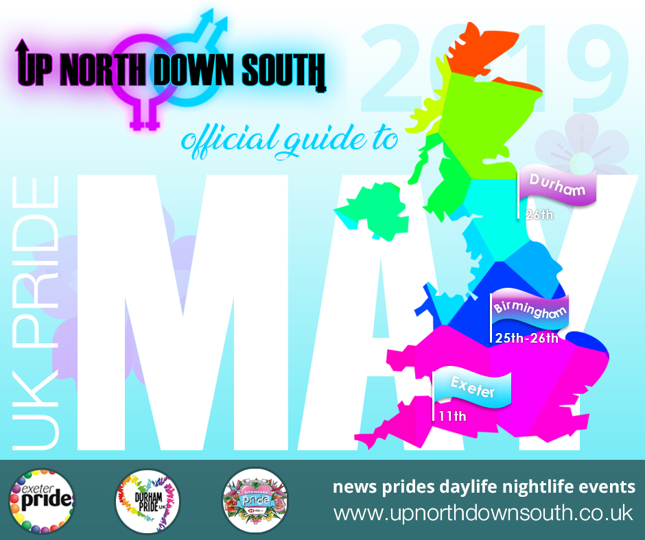 UpNorthDownSouth UK Pride Guide - May