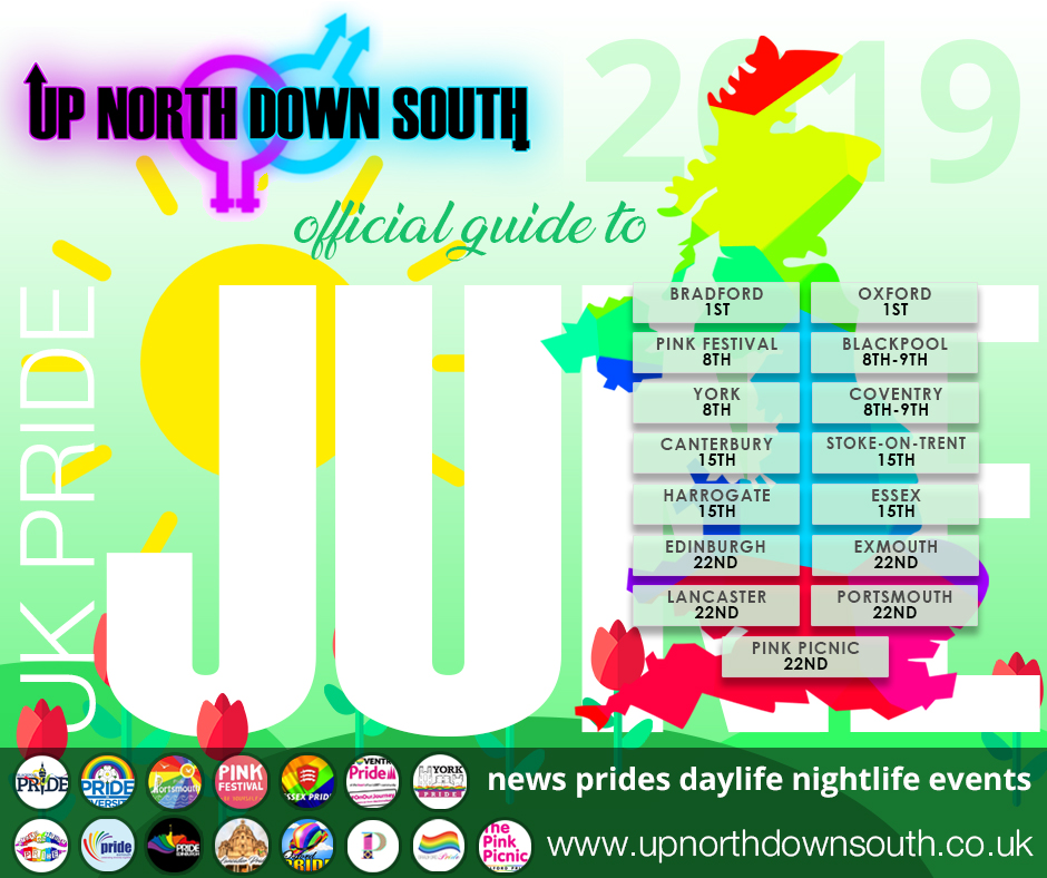 UpNorthDownSouth UK Pride Guide - June